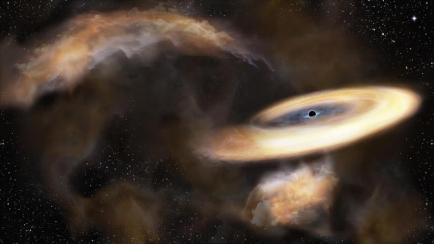 """Descubren agujero negro tan grande que """"no debería existir""""."""