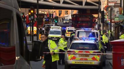 Un ataque con arma blanca deja varios heridos en Londres