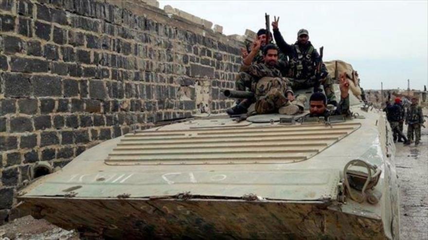Fuerzas del Ejército sirio en la provincia noroccidental de Idlib, 25 de noviembre de 2019. (Foto: SANA)