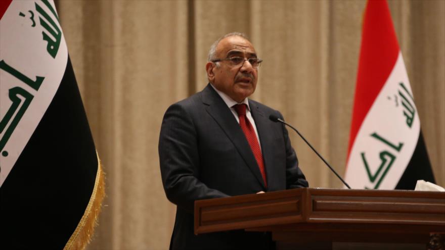 El premier de Irak presenta su renuncia al Parlamento
