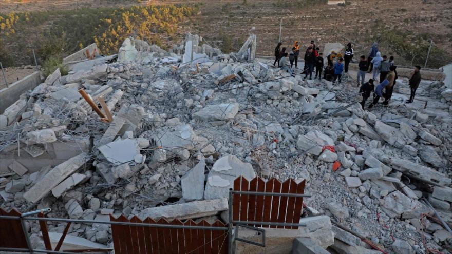 ONU: Israel demolió o confiscó 39 edificios palestinos en 2 semanas | HISPANTV