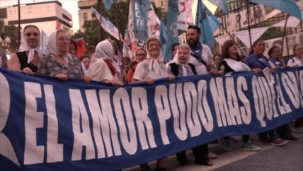 Se realiza en Argentina última marcha de resistencia contra Macri