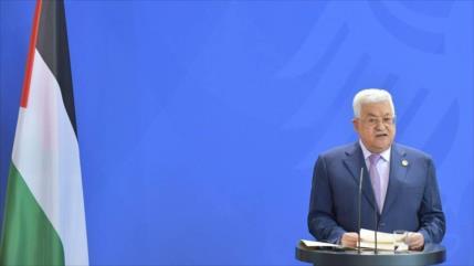 Abás insta a UE a reconocer 'colectivamente' el Estado palestino