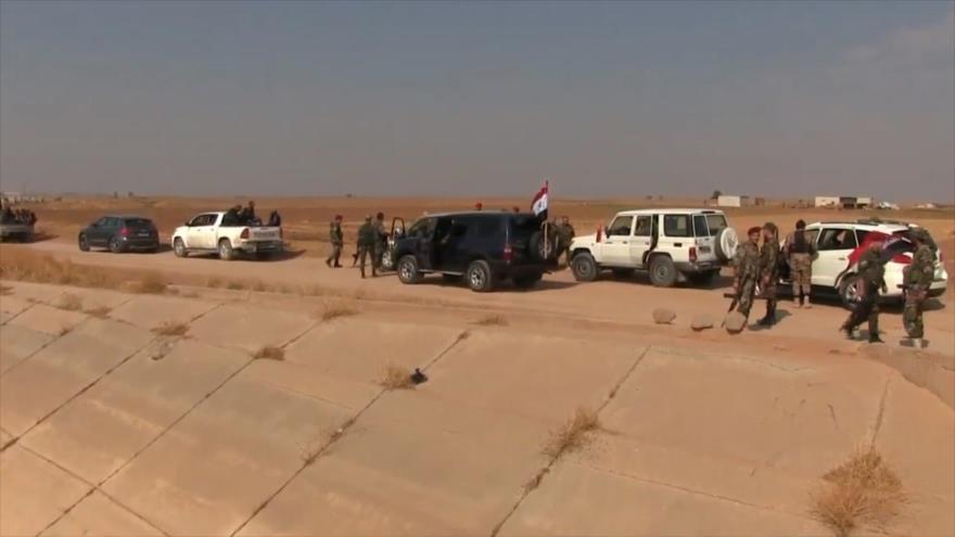 Ejército sirio amplía su despliegue en el norte del país