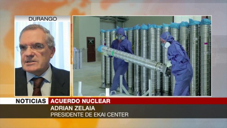 Zelaia: El mundo cree postura de Irán sobre el pacto nuclear