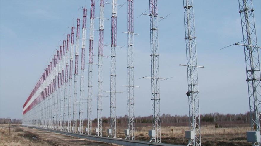 El primer radar transhorizonte ruso, Kontéiner, capaz de detectar blancos aéreos a 2000 kilómetros.