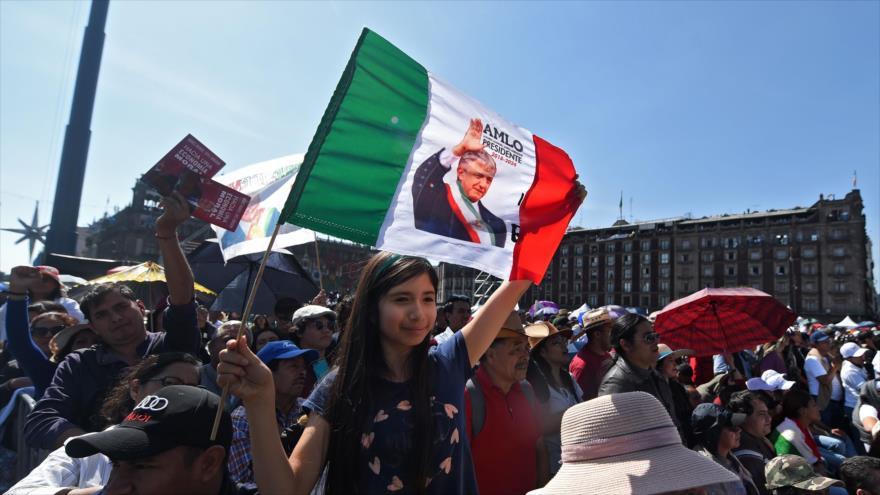 Marchas en México en el primer año de gobierno de López Obrador