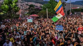 Colombianos copan las calles en el 11.º día de marchas contra Duque