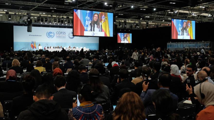 Inauguración de la Cumbre del Clima (COP25) en Madrid