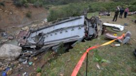 Mueren 24 personas en un accidente de autobús en Túnez