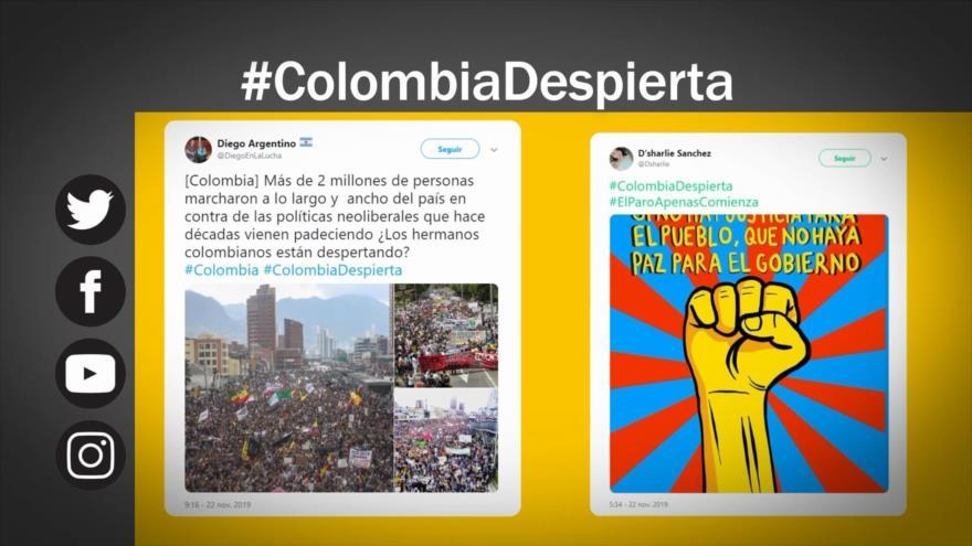 Etiquetaje: Protestas contra Gobierno de Duque en Colombia