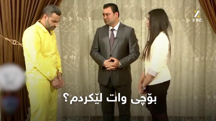 Vídeo: Mujer izadí se desmaya al encarar a su violador de Daesh