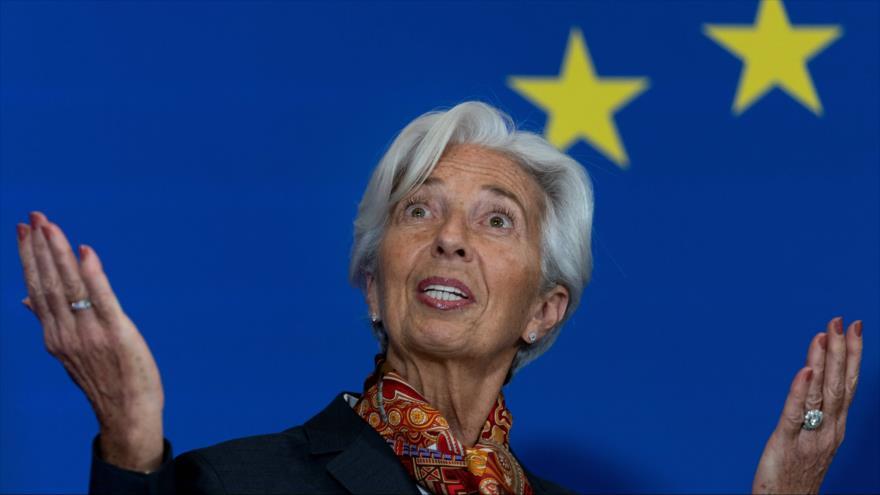 La presidenta del Banco Central Europeo (BCE), Christine Lagarde, en un acto en Bruselas, 1 de diciembre de 2019. (Foto: AFP)