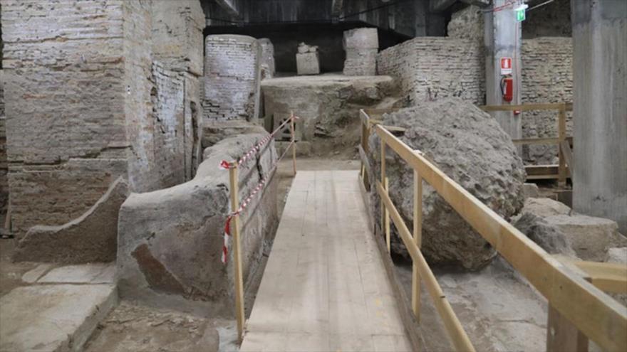 Descubren el laboratorio imperial de Galeno, el médico más célebre de la antigua Roma.