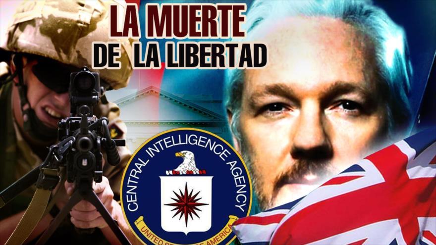Detrás de la Razón: ¿Por qué EEUU quiere ver muerto a Assange?