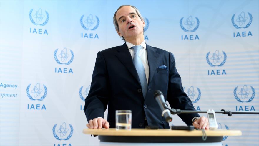 Nuevo director general de la Agencia Internacional de Energía Atómica (AIEA), Rafael Grossi, en Viena, 2 de diciembre de 2019. (Foto: AFP)