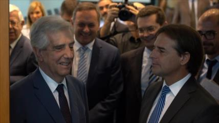 Con la reunión Vázquez-Lacalle Pou inicia transición en Uruguay