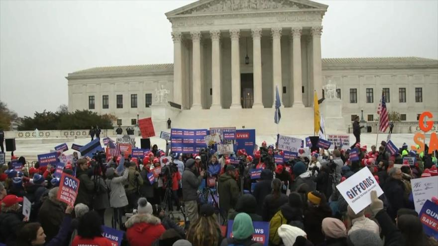 NRA pretende que Corte Suprema expanda derecho a portar armas