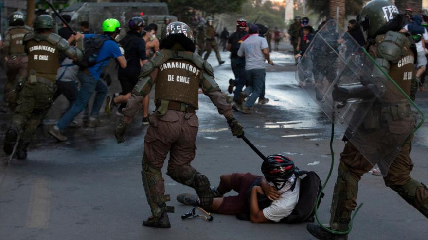 Piñera asegura que la represión es parte de la democracia en Chile | HISPANTV