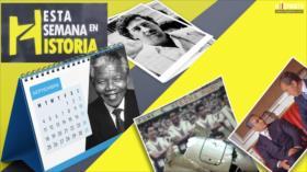 Esta Semana en la Historia: Caída de Pablo Escobar. Fallecimiento de Nelson Mandela. Tragedia aérea de Alianza Lima. Día Nacional del Estudiante Universitario en Irán