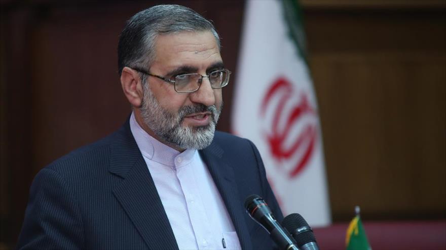 El portavoz del Poder Judicial de Irán, Qolam Hosein Esmaili.