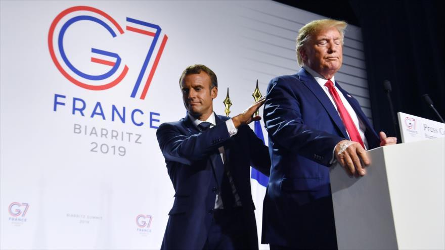 UE promete respuesta unánime a amenazas de EEUU contra Francia