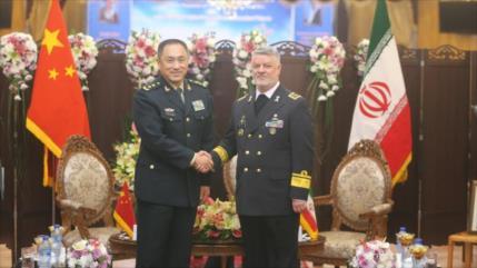 Irán, China y Rusia fijan fecha para su maniobra naval conjunta