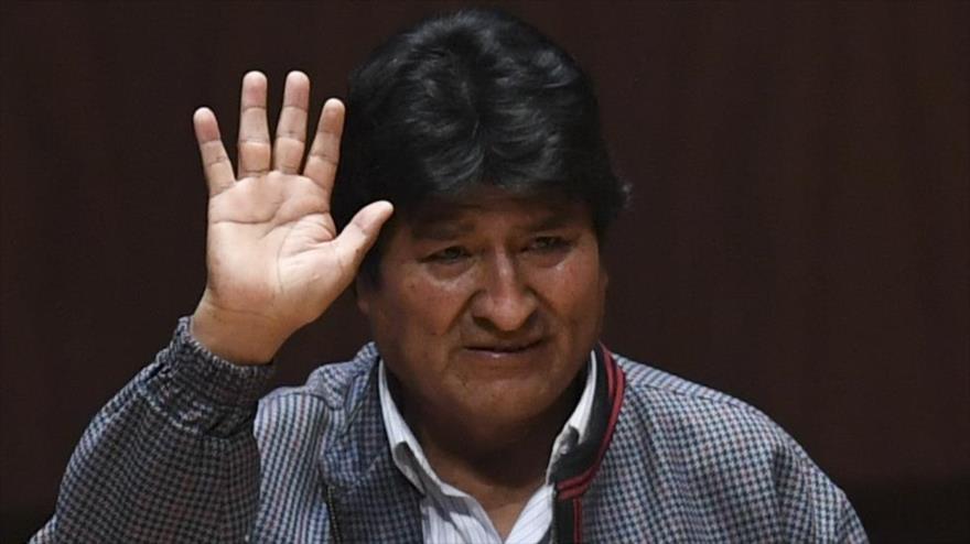 El depuesto presidente de Bolivia, Evo Morales, en México, 26 de noviembre de 2019. (Foto: AFP)