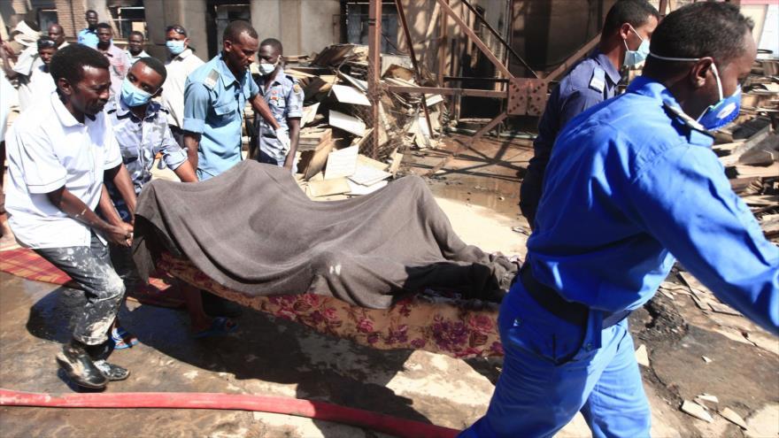 Explosión en una fábrica en Sudán deja 23 muertos y 45 heridos