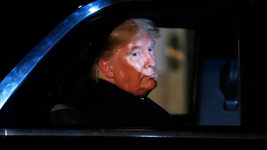 El presidente de EE.UU., Donald Trump, en Londres, capital del Reino Unido, 3 de diciembre de 2019. (Foto: AFP)