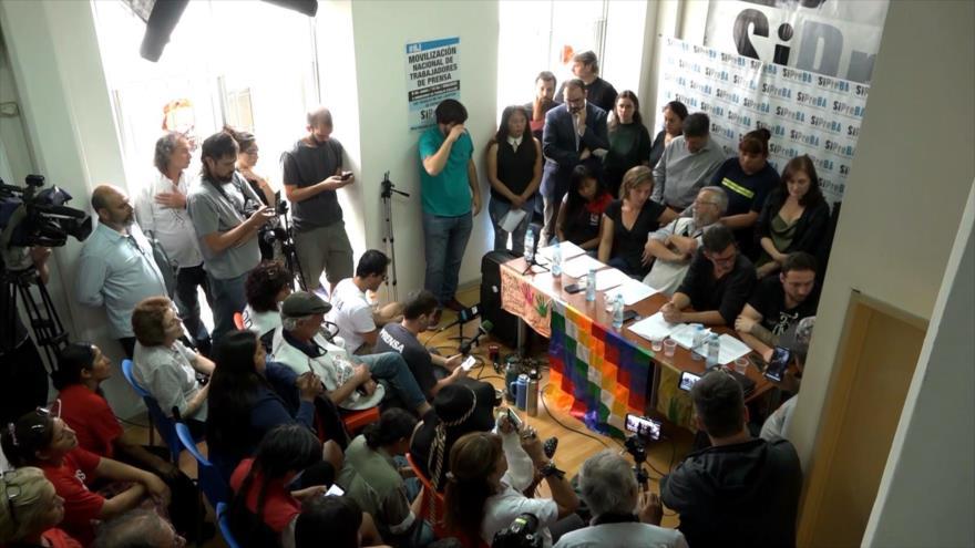 Delegación argentina denuncia golpe contra Morales en Bolivia | HISPANTV