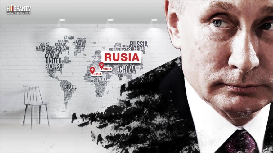 Rusia y su papel constructivo en Libia y Siria