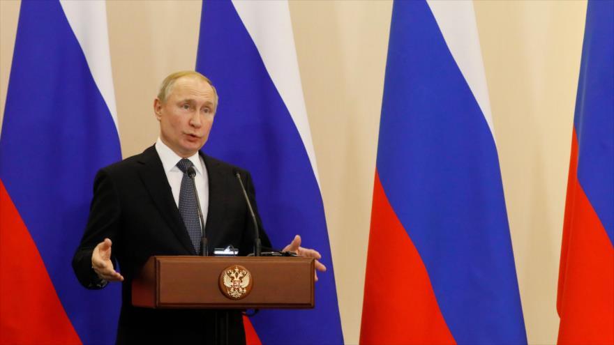 Putin advierte a EEUU contra usar espacio como 'teatro de guerra' | HISPANTV