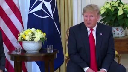 Trump declara que pretende saquear el crudo de Siria