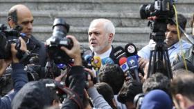 Zarif: Suecia debería vender a Irán medicina para enfermos de EB
