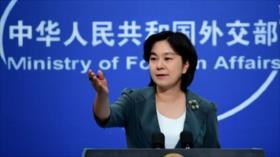China: EEUU pagará un precio por la ley de Congreso sobre uigur