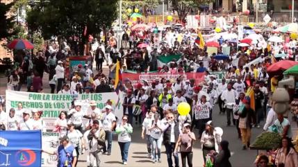 Se realiza un nuevo paro nacional en Colombia