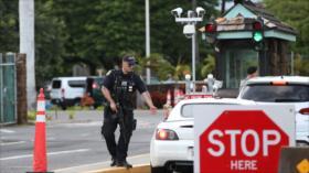 Tiroteo en una base naval en EEUU deja tres muertos