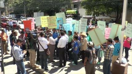 Ambientalistas hondureños denuncian horrenda persecución