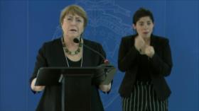 Bachelet no se refiere en Costa Rica a violaciones de DDHH
