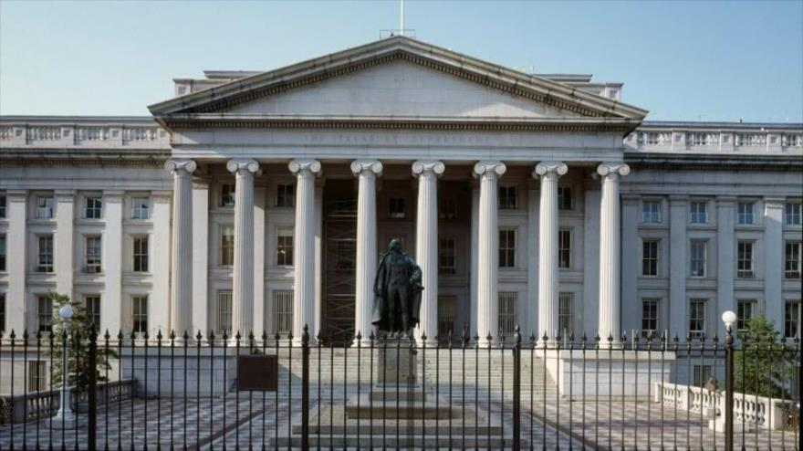 Sede del Departamento de Tesoro estadounidense en Washington.