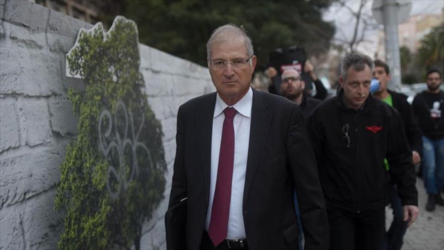 David Shimron, abogado personal del primer ministro israelí, Benjamin Netanyahu, 17 de febrero de 2015.