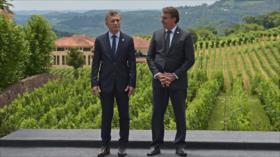 Bolsonaro a Fernández: Mercosur no aceptará retrocesos ideológicos