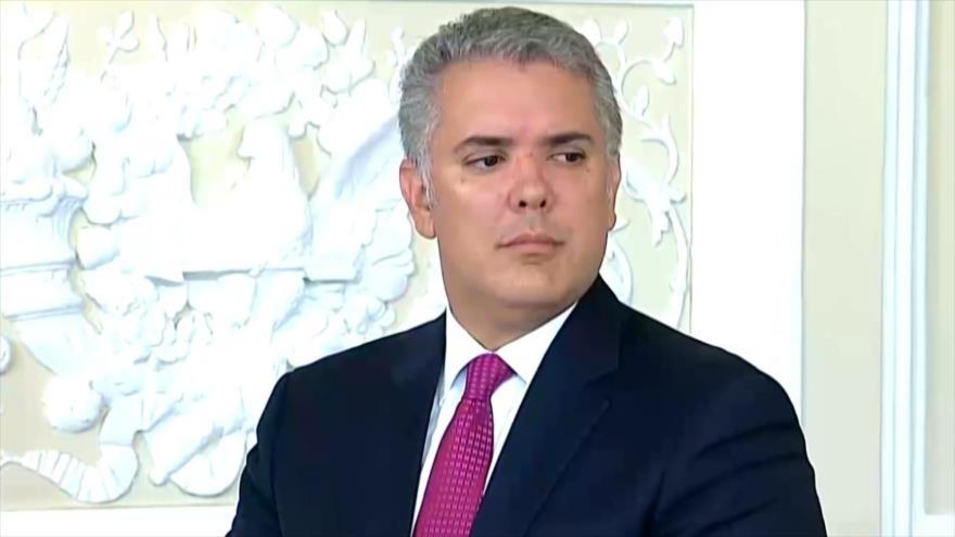 Presidente de Colombia sigue con altos índices de impopularidad