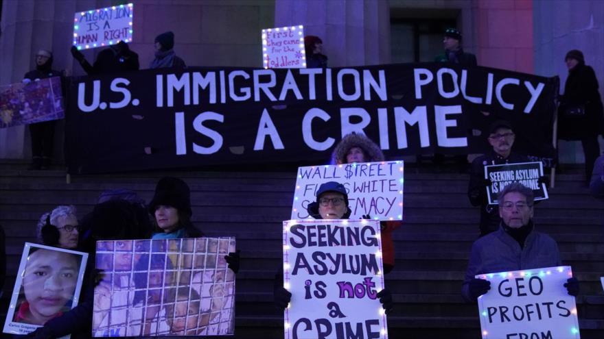 Activistas condenan políticas migratorias del Gobierno de EEUU