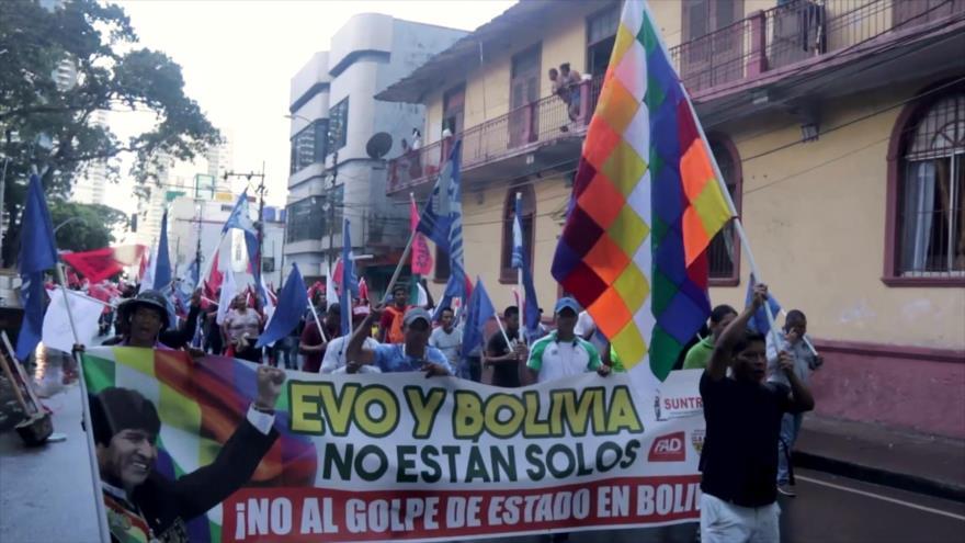 Desde Panamá se solidarizan con lucha popular en América Latina