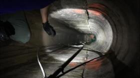 Descubren un nuevo túnel inconcluso en frontera México-EEUU
