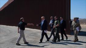 """Trump dijo que """"no se puede subir"""" su muro fronterizo, ¡vean cómo!"""
