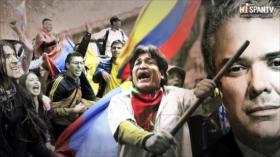 El PAÍS QUE NO ME ENTIENDE: Las masivas marchas contra Duque