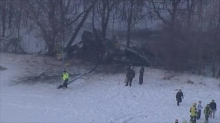 Tres militares de EEUU mueren al estallarse su helicóptero